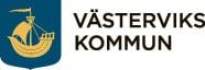 Logotyp för Västerviks kommun, länk till startsidan
